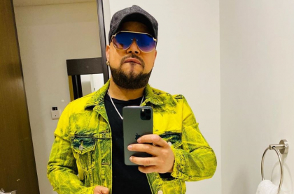 Yader Romero, cantante.