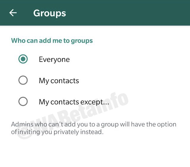 "WhatsApp Group Configuration ""title ="" WhatsApp Group Configuration ""/><figcaption class="
