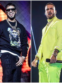 'Batazo' que le pegó Anuel a Maluma en su nueva canción; ¿'problemas en el paraíso'?