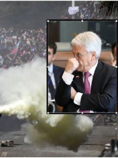 Ni pidiendo perdón, Piñera logra bajar tensión en Chile: sindicatos van a huelga general