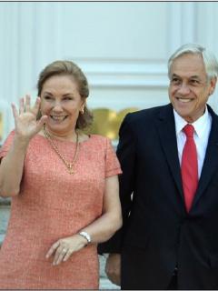 Invasión alienígena: eso son las protestas para la esposa del presidente chileno