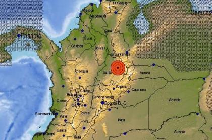 Temblor en Santander