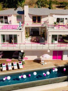 La mansión de Barbie sí existe y se puede alquilar por un precio muy económico