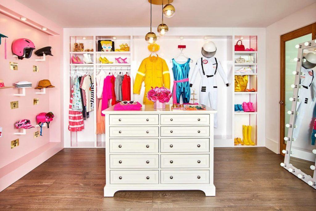 Casa de Barbie.
