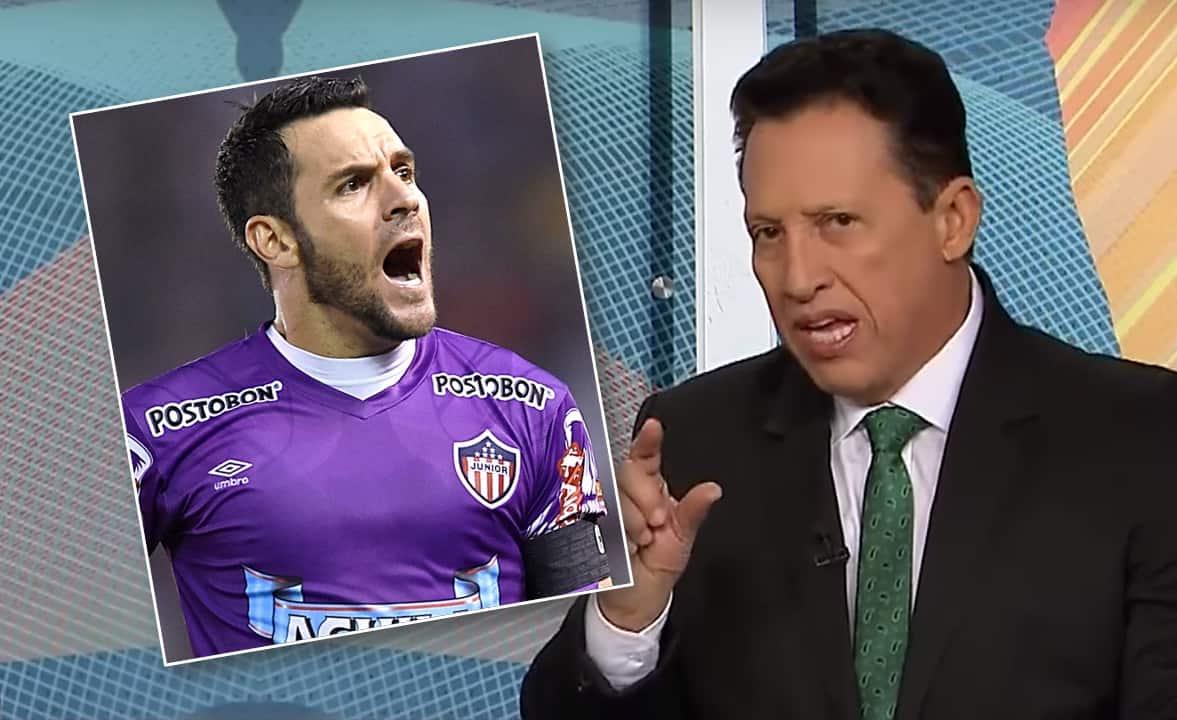 Sebastián Viera y Óscar Rentería