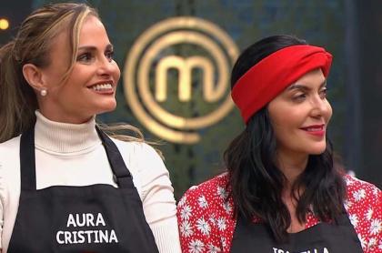 Aura Cristina Geithner e Isabella Santo Domingo