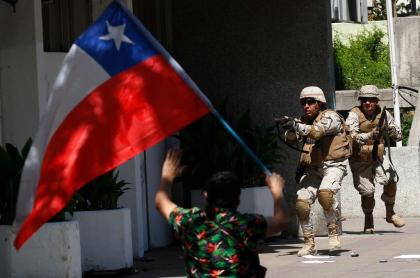 Represión de protestas en Chile