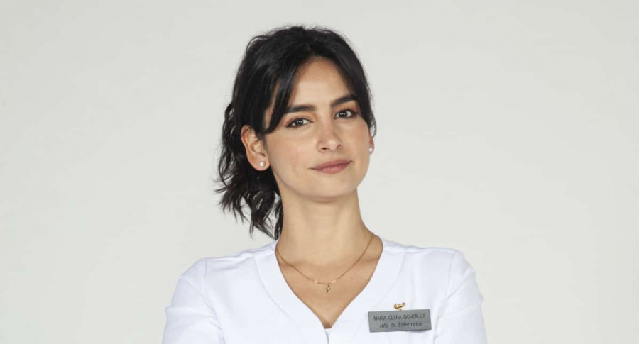 Diana Hoyos, protagonista de 'Enfermeras'
