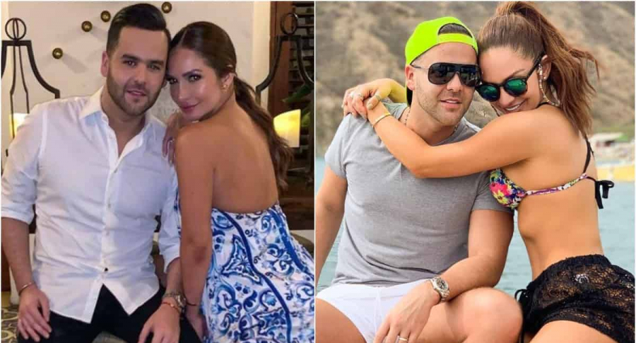 Federico Severini y Kimberly Reyes