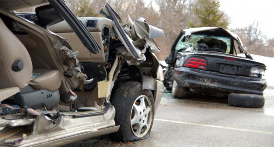Accidente de tránsito.