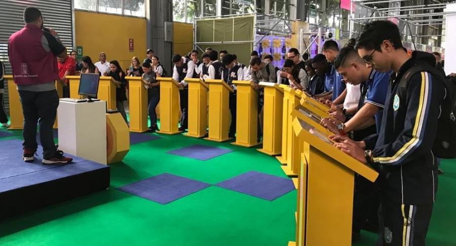 Feria educativa en Medellín