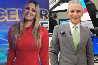 Melissa Martínez y Juan Eduardo Jaramillo