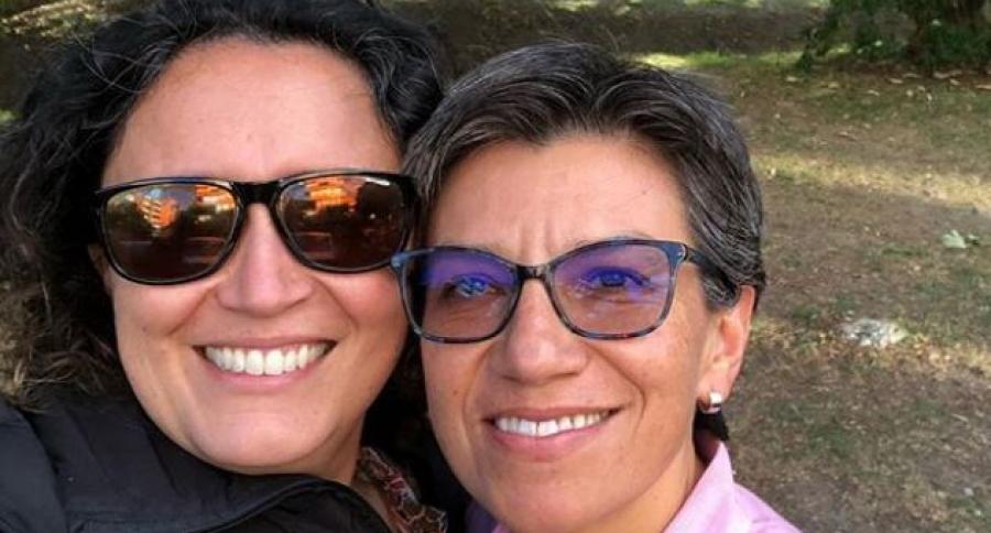 Angélica Lozano y Claudia López