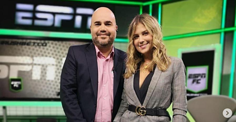 Andrés Marocco y Andrea Guerrero
