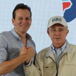 Alfredo Ramos y Álvaro Uribe