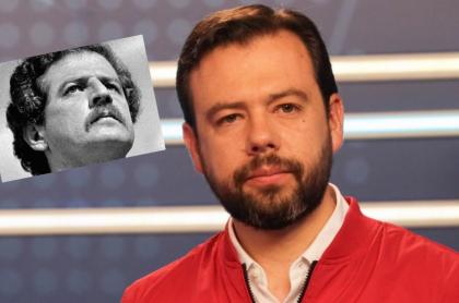 Carlos Fernando Galán y padre.
