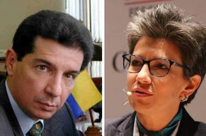 José Félix Lafaurie y Claudia López .