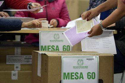Elecciones en Colombia.