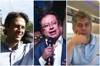 Daniel Quintero, Gustavo Petro y Daniel Coronell