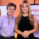 Claudia López y Vicky Dávila