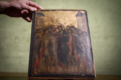 Pintura del siglo XIII.