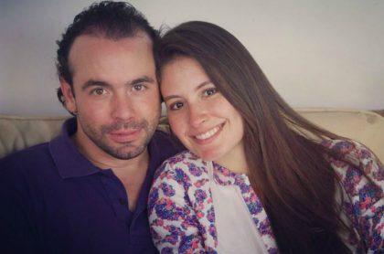 Alejandro Eder y Taliana Vargas