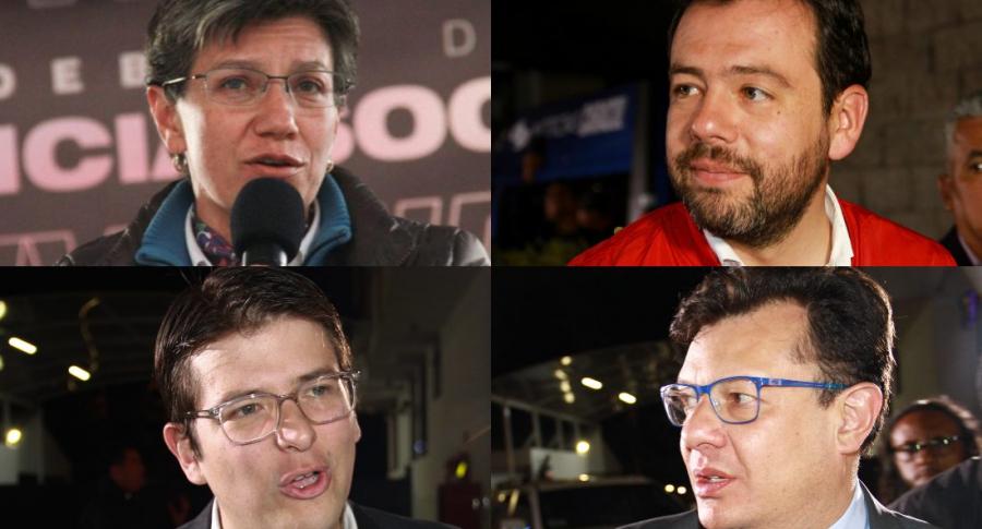 Candidatos a la Alcaldía de Bogotá 2019