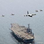 Portaviones militar estadounidense