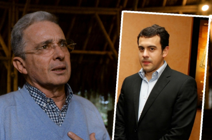 Álvaro Uribe y Rodrigo Lara