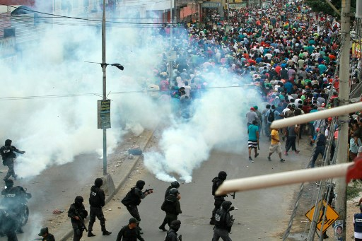 Protestas contra Evo Morales en Bolivia