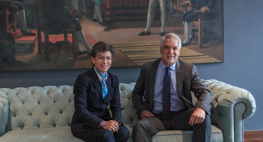Claudia López y Enrique Peñalosa.