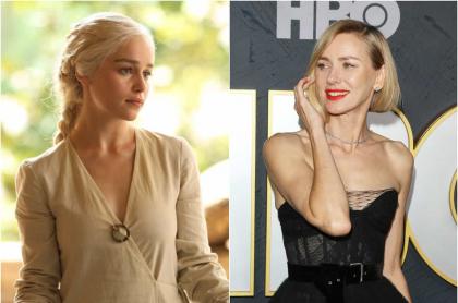 Emilia Clarke / Naomi Watts