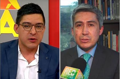 Juan Pablo Barrientos y Hernando Herrera