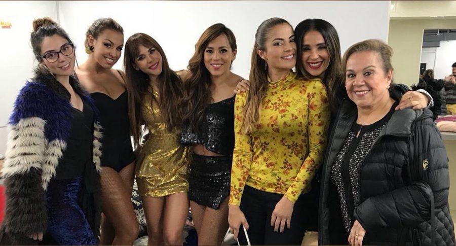 Marilyn Patiño, Maía, Carolina Gaitán, Adriana Botina, Catherine Siachoque