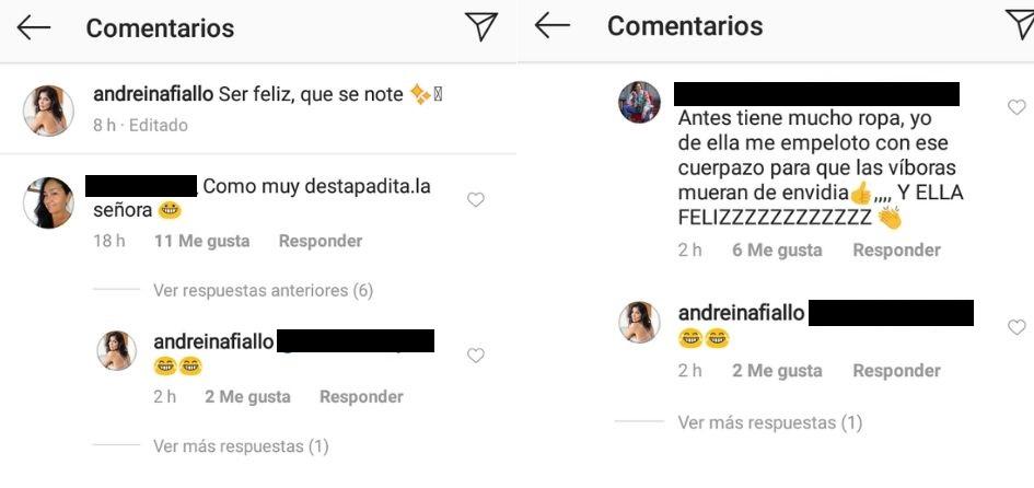 Comentarios post Andreina Fiallo
