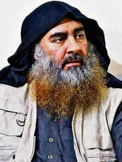 Jefe de ISIS Abu Bakr al Bagdadi