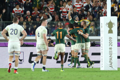 Sudáfrica campeón Mundial Rugby 2019
