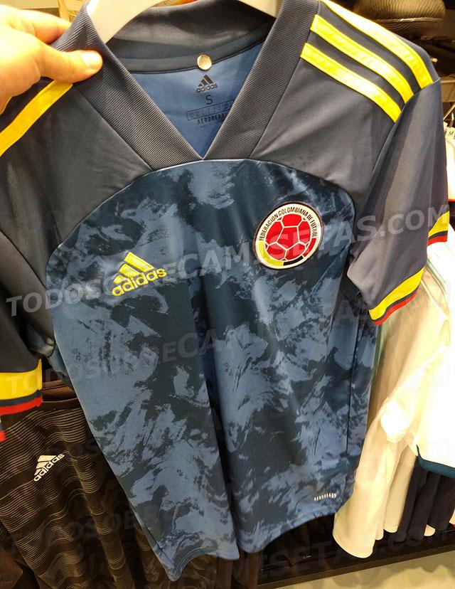 Camiseta suplente Selección Colombia