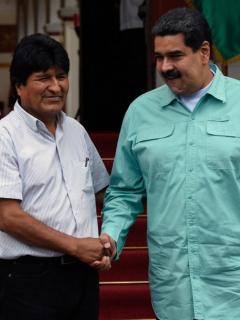 La reacción de Maduro al enterarse de que Evo Morales renunció a la presidencia
