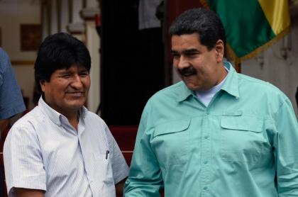 Evo Morales y Nicolás Maduro