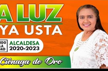 Publicidad política de Ana Luz Bedoya Usta
