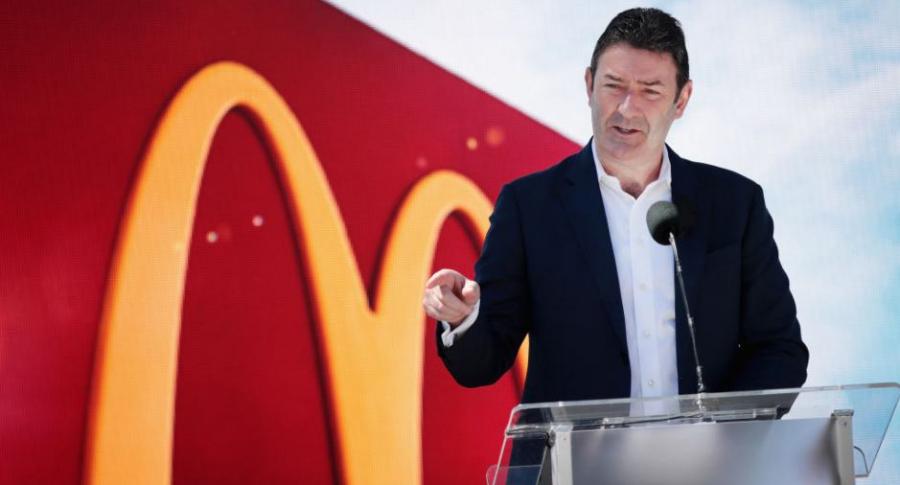 Steve Easterbrook, ex CEO de McDonald's.