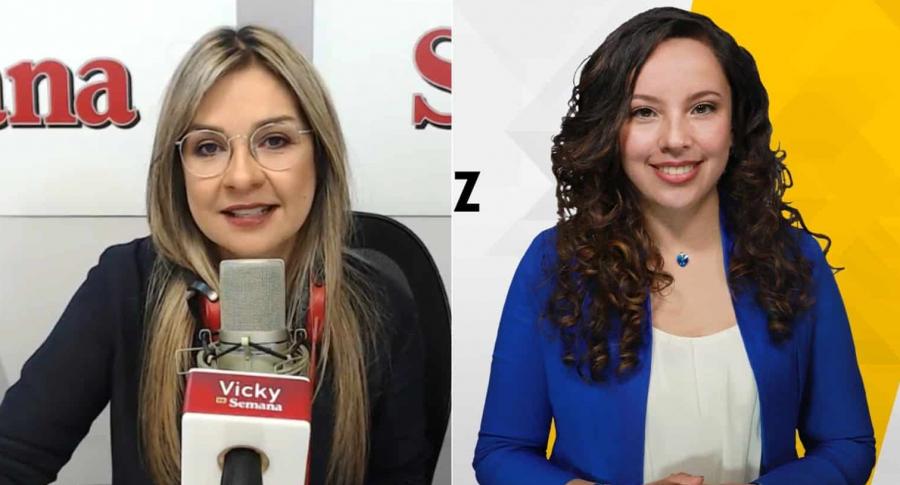 Vicky Dávila y Andrea Díaz