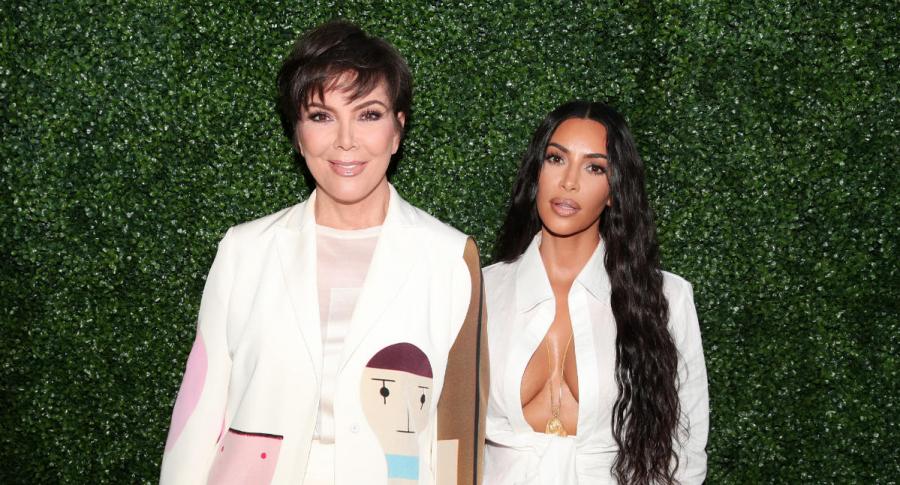 Kris Jenner y Kim Kardashian