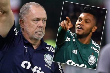 Mano Menezes y Migual Ángel Borja