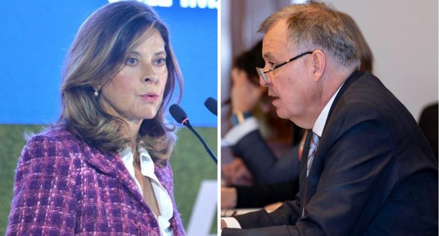 Marta Lucía Ramírez y Alejandro Ordóñez
