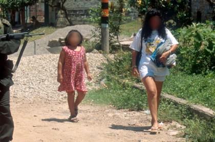 Reclutación de menores