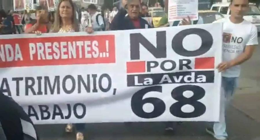Marchas por la 68