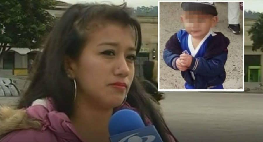 Mamá de niño asesinado