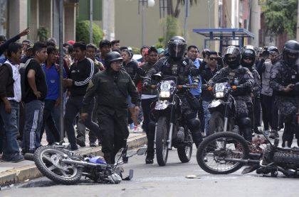 Policía en Bolivia
